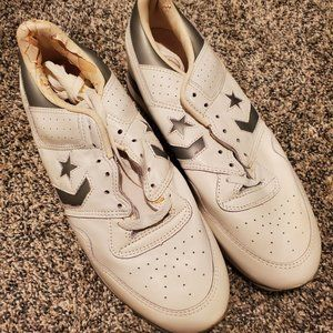 Vintage Converse Enterprise White Sneakers Men's 8